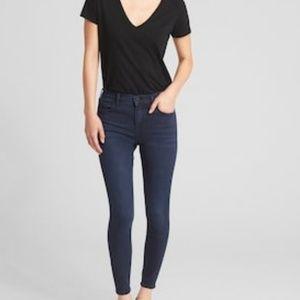 Gap True Skinny Easy Legging Blue Jean 27 Reg